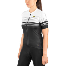 Alé Cycling Graphics PRR Slide SS Jersey Damen black-white